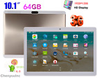 10.1'' Tablet PC Android 6.0 Octa Core 4GB+64GB 3G Phablet Dual Camera OTG WiFi