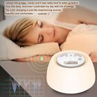 LED Wake-Up Light Sunrise Simulation Alarm Clock USB Sleep Aid Therapy Lamp Kids