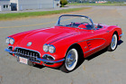 1958 Chevrolet Corvette Convertible Coupe 1958 Chevrolet Corvette Convertible Fuel Injected Power Top Frame Off Restored