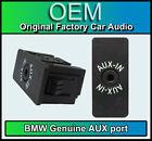 BMW 1 3 5 6 7 X1 X3 X5 X6 Z4 SERIES E81 E87 E90 Audio Aux In Socket Plug