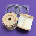 2PCS Fuel separator element Filter replacement for RACOR 500FG 2010PM 30micron