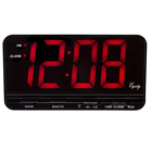 "Equity by La Crosse 30401 3"" Red LED Electric Alarm Clock, X-Large"
