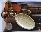Authentic Louis Vuitton Beige Voyages Key Ring