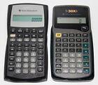 Lot of 2 Texas Instruments Calculators BA II Plus & TI-30XA