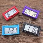 Portable Lcd Digital Clock Car Automotive Auto Self-Adhesive Stick Watch Time