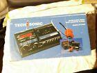 Vintage Red LED Tech Sonic AM FM Clock Radio Removable Cassette Player ST-5488