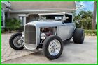1932 Ford Model A Independent Suspension / Leather Interior 1932 Ford Model A Highboy Roadster Hardtop Automatic Chevy 350 V8