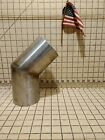 Marine Stainless Steel SS Exhaust Elbow 4 Inch 45 Degree Angle Tig