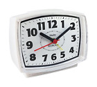 Westclox 22192 Electric Alarm Clock with Constant Lighted Dial, Multicolored