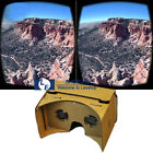 New Google 3D VR Virtual Reality Glasses DIY Cardboard for Android Phones iPhone