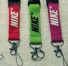 3 NIKE, Lanyard, neck strap, Ruban porte clés,