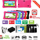 7'' Android 8.1 Quad-Core 8GB HD Tablet PC 1.3GHz Dual Camera Bundle Case Gift