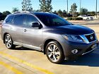 2014 Nissan Pathfinder Platinum Premium One Owner Clean Title 2014 Nissan Pathfinder Platinum 4WD DVD Screens