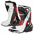 NEW Cortech Moto Impulse Air RR Boots 7 White/Red