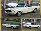 1967 Ford Mustang  1967 Ford Mustang Convertible 6 Cylinder PS, PTop, Dual Exhaust Flow Master