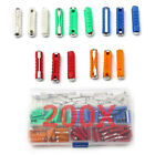 200x Europe Car Fuse 5-30AMP Charger Radio Circuit Protection Bakelite EU Fuse