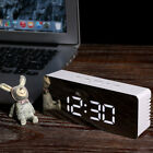 1 Pcs LED Display Alarm Clock LED Clock Mirror Clock for Home Living Room Office