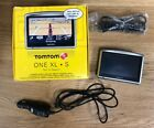 Bundle TomTom ONE XL S XL-S Text-To-Speech US Canada Maps Car GPS + Accessories