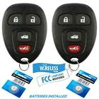 2 for Chevrolet Cobalt Buick Allure 2005 2006 2007 2008 2009 keyless remote key