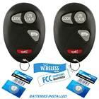 2 New Replacement Remote Keyless Entry Key Fob Power Door Transmitter Van