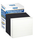 VEVA 2 Premium True HEPA Filter Including 8 Carbon Pre Filters Compatible with