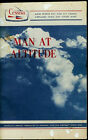 1965 Cessna Man At Altitude Physiological Effects Original Information Manual