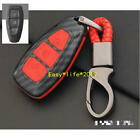 Carbon fiber Smart key case cover For Ford Fiesta Focus Mondeo Ecosport Kuga