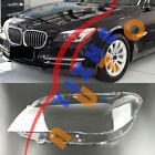 For BMW 7series F01 F02 09-15 1Pcs Left Side Headlight transparent Cover + Glue