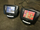 2 AMX Viewpoint wireless touch panels with charging base and extra batteries