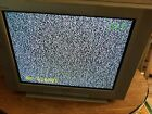 """Sony Trinitron WEGA KV-24FV12 24"""" CRT TV Television RETRO GAMING EXCELLENT COND"""