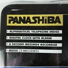 NEW Panashiba Digital Deskmate Message Recorder Phone Index Alarm SX-160