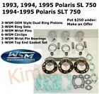1993-1995 Polaris SL SLT 750 WSM 70.50 mm .030 Bore Pistons Bearings Gaskets