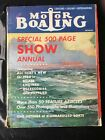 Motor Boating Magazine January 1960--NY Boat Show Special Edition