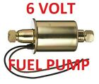 6 volt electric Fuel Pump for Henry J 1953 1952 1951-can be primary or support