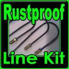 Rustproof Brake line kit Dodge Dart Lancer Ply Valiant 1960-1961-1962-1963-64-65
