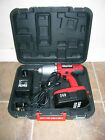 "Clarke CIR-450C 24v 1/2"" Drive Heavy Duty Cordless Impact Wrench."