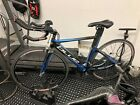 Blue Triad Carbon Triathlon Bike Size XS