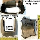 Exhaust Housing Trim Cover, 55 Hp Evinrude/Johnson 68/9