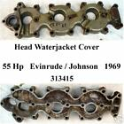 Cover, Head Waterjacket, 55 Hp Evinrude/ Johnson 1968/9