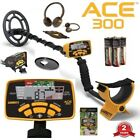 Garrett Ace 250 Deluxe Sports Metal Detector Package with Two Coils + Extras !