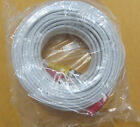 100' Power/Video Cable BNC White 100 ft CCTV Cameras