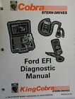 1995 OMC Cobra SternDrives Ford EFI Diagnostic Factory Service Manual P/N 503171
