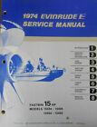 1974 Evinrude Service Manual & Parts Catalog Fastwin 15 HP