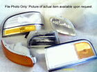 95 96 97 98 99 SUNFIRE LEFT BUMPER MOUNTED PARK LIGHT TURN SIGNAL