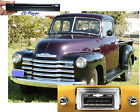 CD Player & NEW* 300 watts AM FM Stereo Radio '47-53 Chevy Truck iPod USB Aux