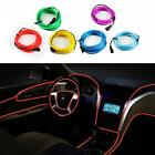 New 3meters electroluminescent Neon Flexible Light Glow EL Car Wire Rope red