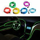 New 3 Meters Electroluminescent Neon Flexible Light Glow EL Car Wire Rope Green