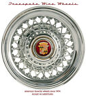 Cadillac Wire Wheels Truespoke Brand Show Quality 1941-1970's 48 and 56 Spokes