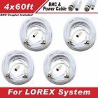 WHITE 240FT BNC CABLE FOR LOREX LH16243TC129B, LH16162TC129B, LH1561620B, ECO6