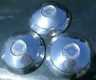 "1960 60 Chevrolet Chevy Corvair 13"" Dog Dish Wheel Covers Hubcaps Set of 3 OEM"